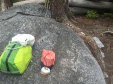 food bag, bear bag, and stove bag